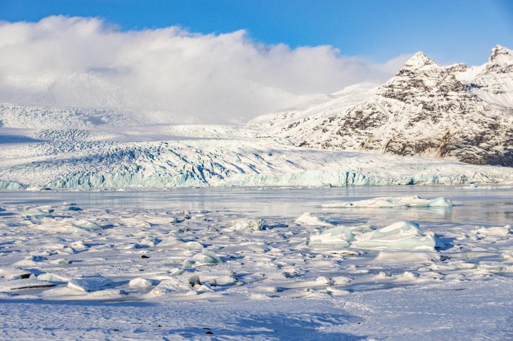 Islandia atrakcje: Fjallsárlón