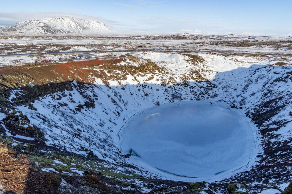 Islandia atrakcje: Kerid