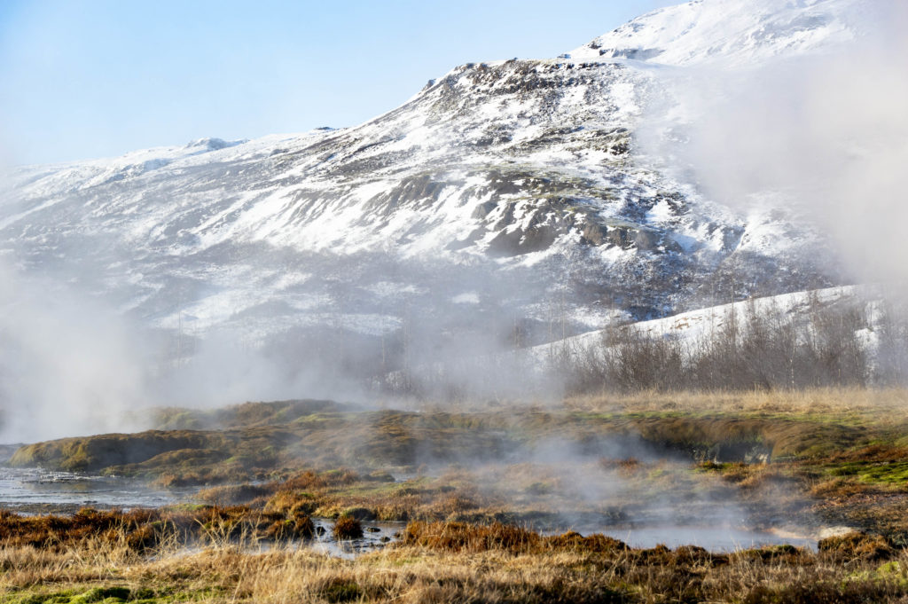 Iceland attractions: hot springs