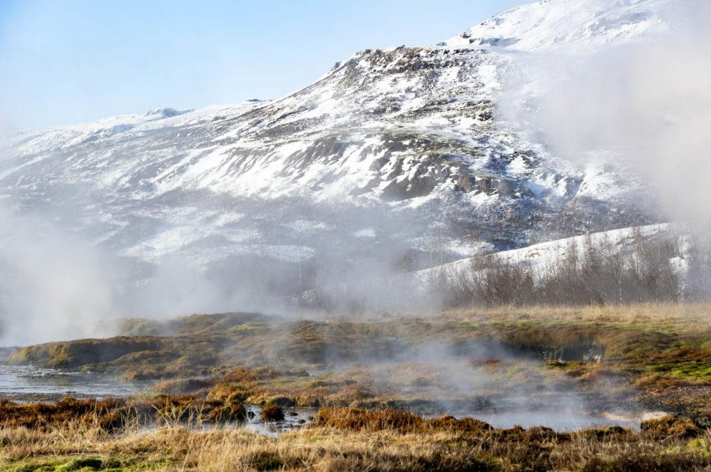 Islandia atrakcje: gorące źródła