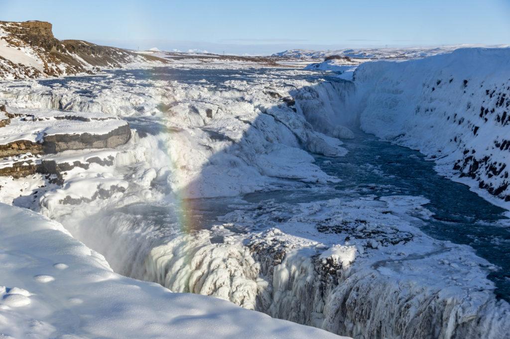 Islandia atrakcje: Gullfoss