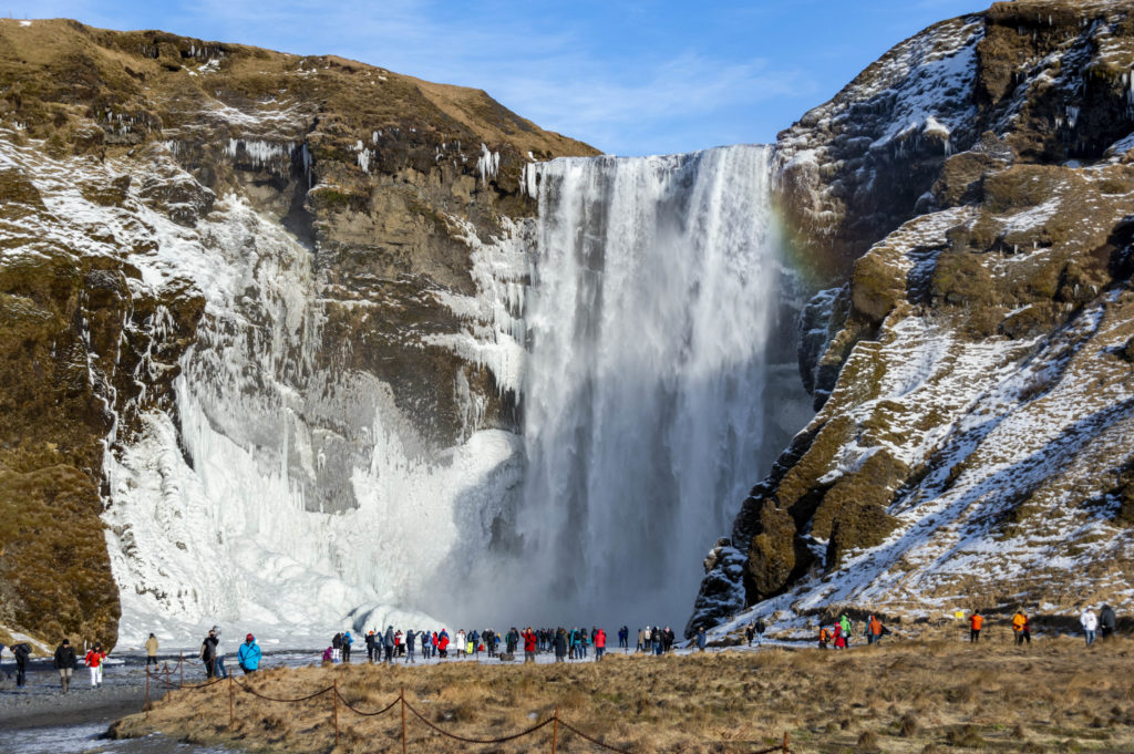 Iceland attractions: Skogafoss