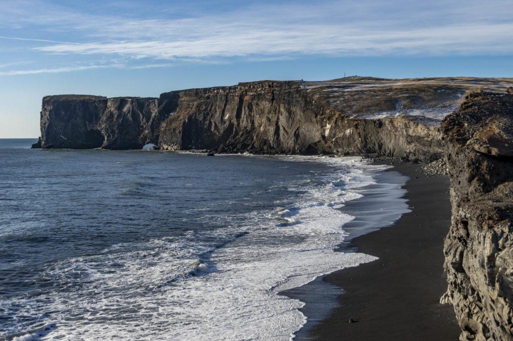 Islandia atrakcje: półwysep Dyrholaey