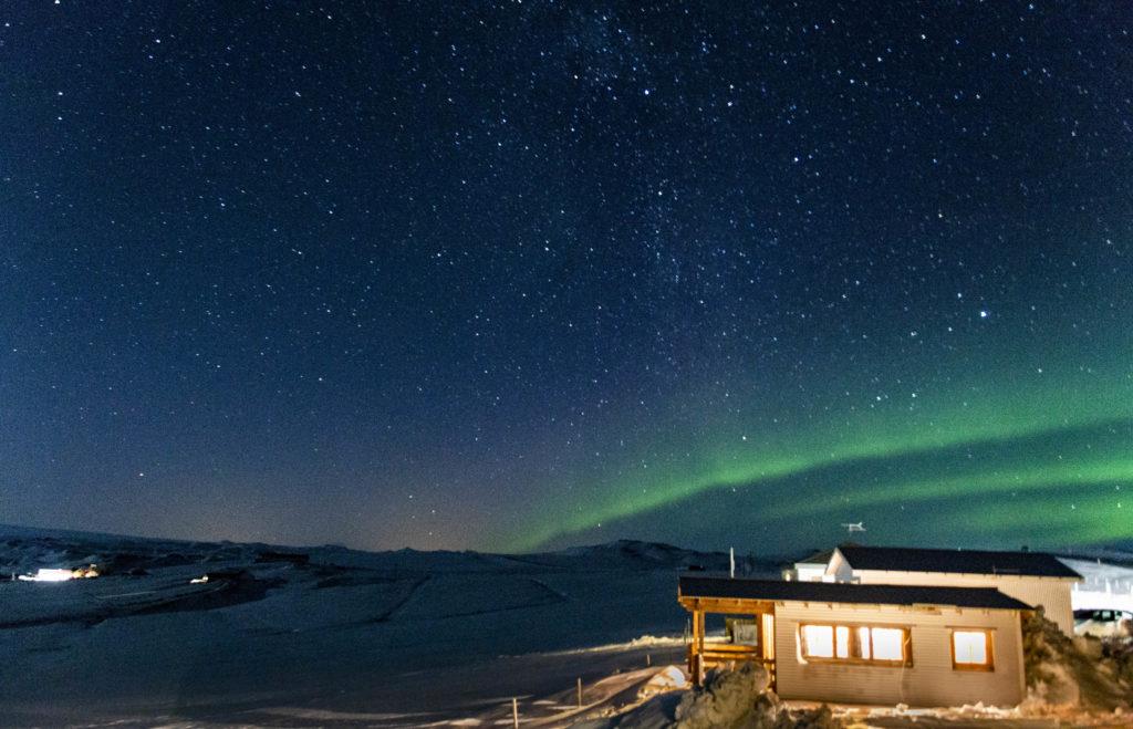 Islandia atrakcje: zorza polarna