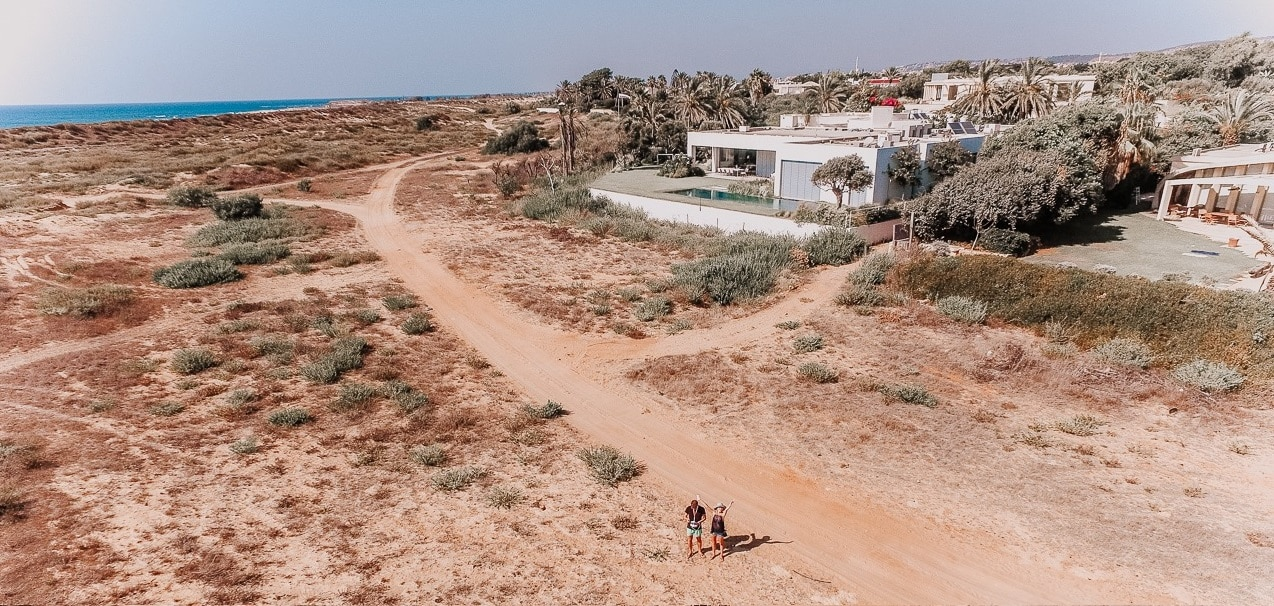 Is volunteering in Israel for you? Inspiring story of promoting a local foundation and taking care of a villa by the sea