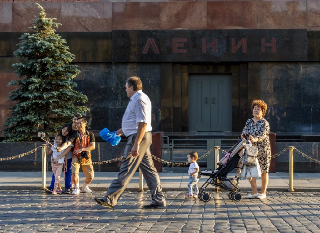 Moskwa zabytki - mauzoleum Lenina