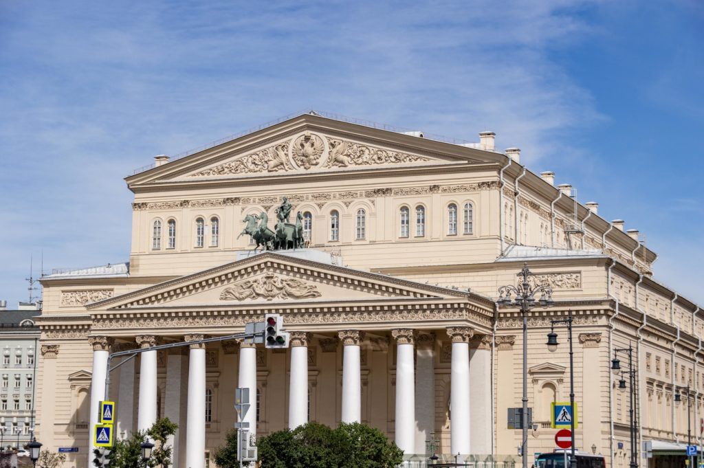 Things to do in Moscow, Russia: Bolshoi Theatre