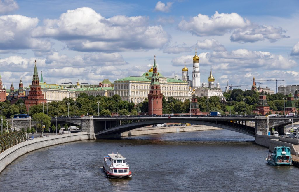 Things to do in Moscow, Russia: Cruise on the river