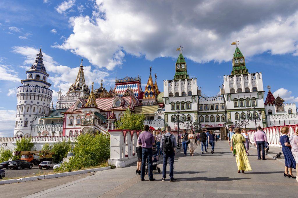 Moskwa zabytki - Kreml w Izmailovo
