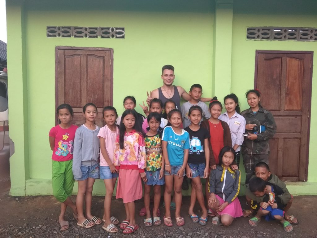 volunteering in Laos