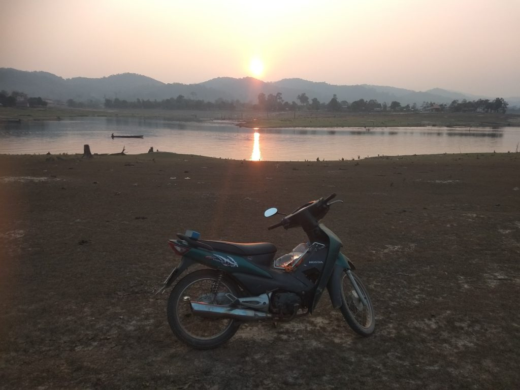 volunteer in Laos