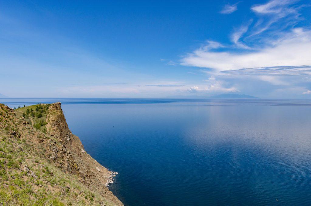 Jezioro Bajkał - przylądek Choboj