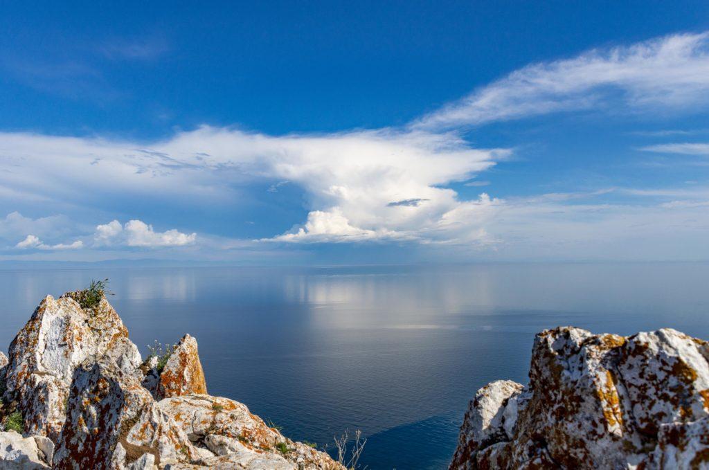Jezioro Bajkał widok