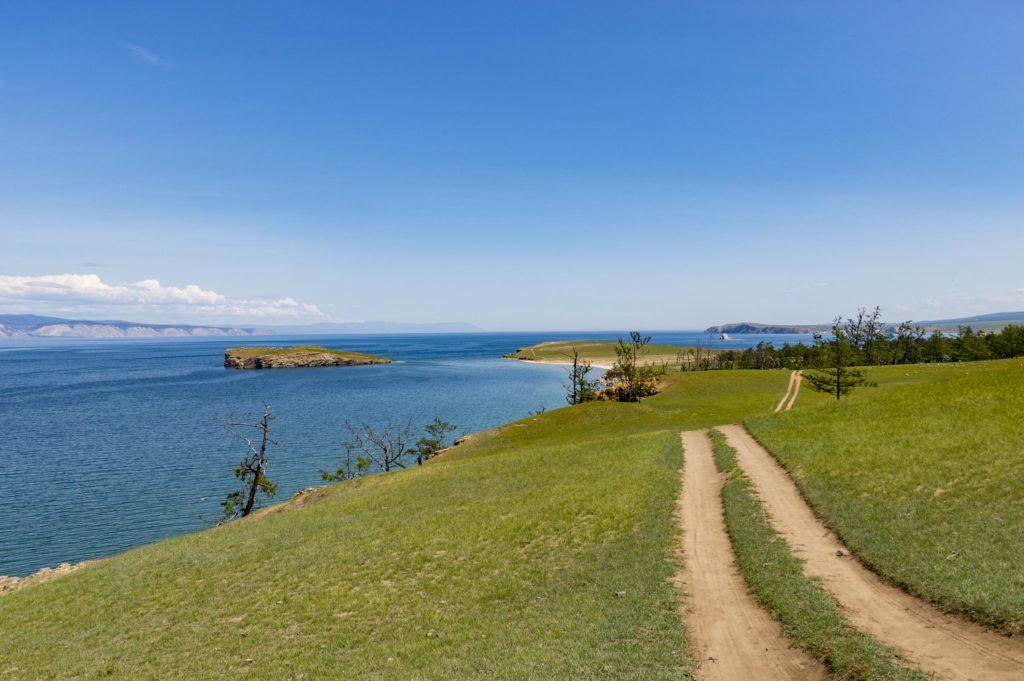 Wycieczka rowerowa na wyspie Olchon