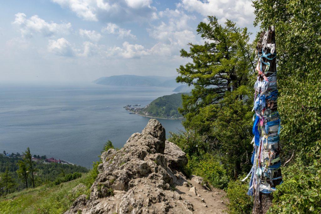 Kamień Czerskiego i jezioro Bajkał