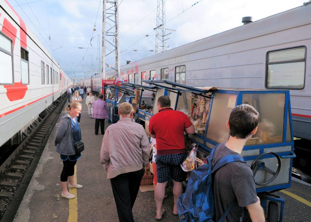podróż koleją transsyberyjską