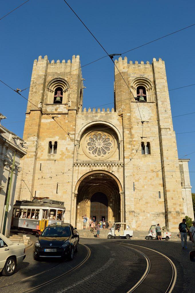 Lizbona atrakcje - katedra Se