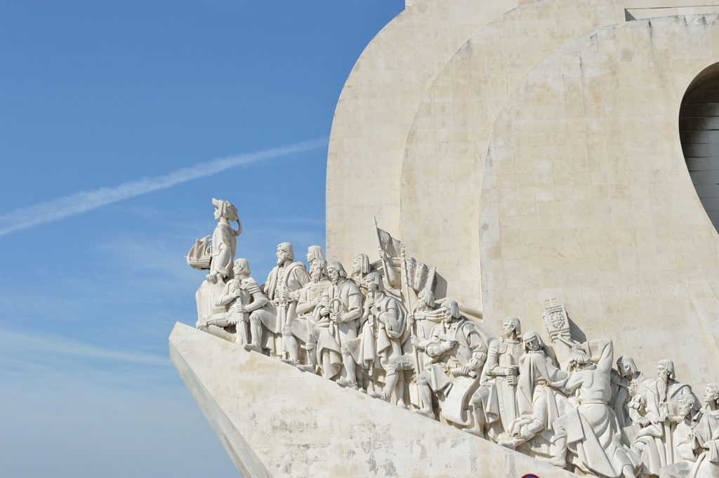 Discoveries monument in Lisbon, Portugal